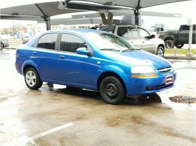 Kl1td52615b303825 2005 Chevrolet Aveo For Sale In Lewisville Tx