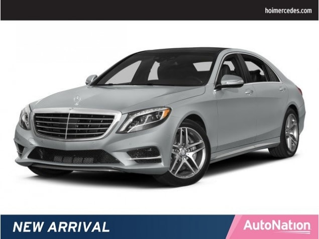 2015 Mercedes Benz S Class 4dr Sdn S 550 RWD